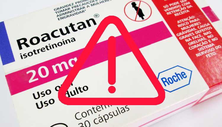 Efectos secundarios de Roacutan